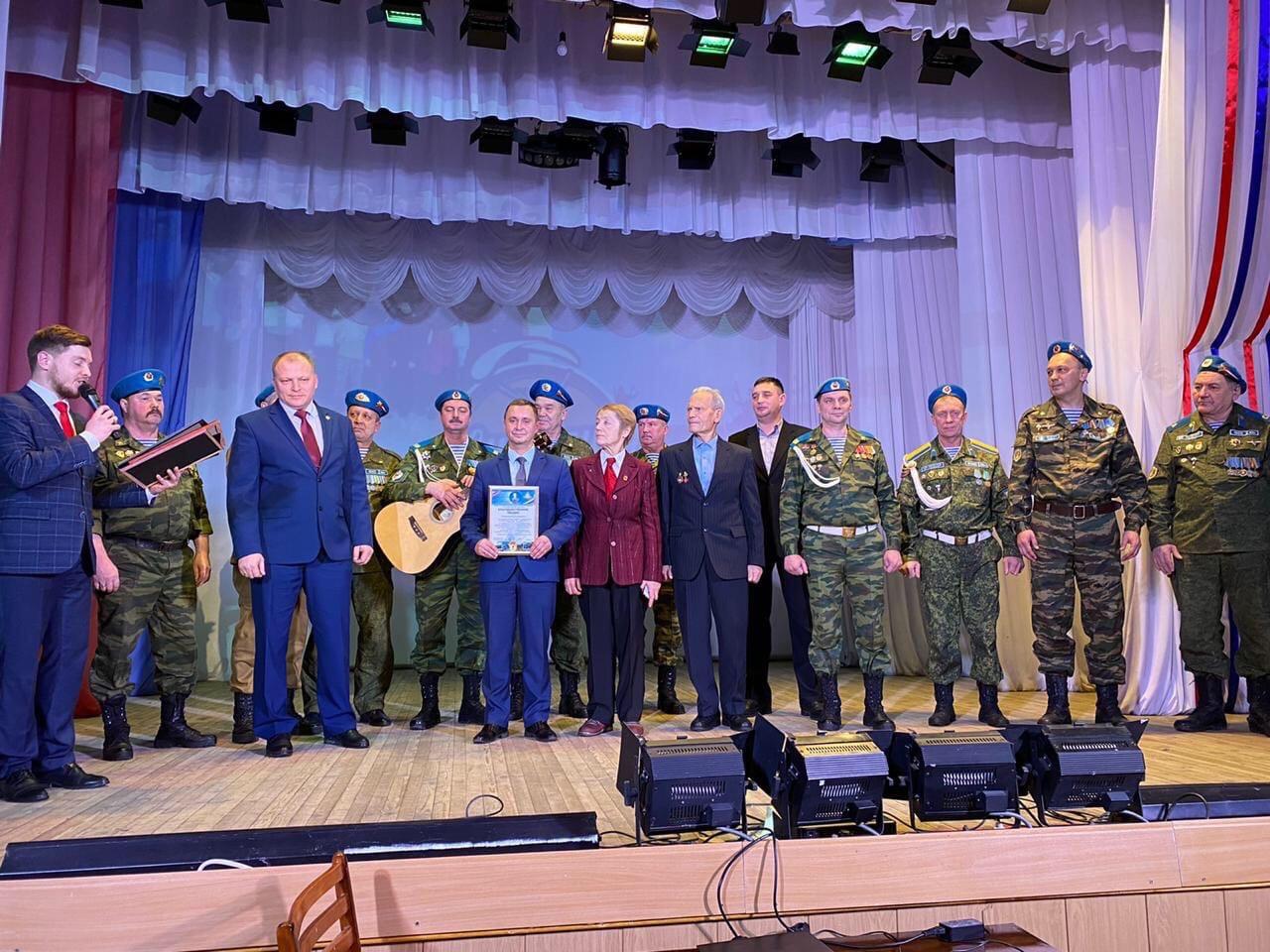 «Союз десантников Удмуртии» на 30-летии Можгинского авиаклуба