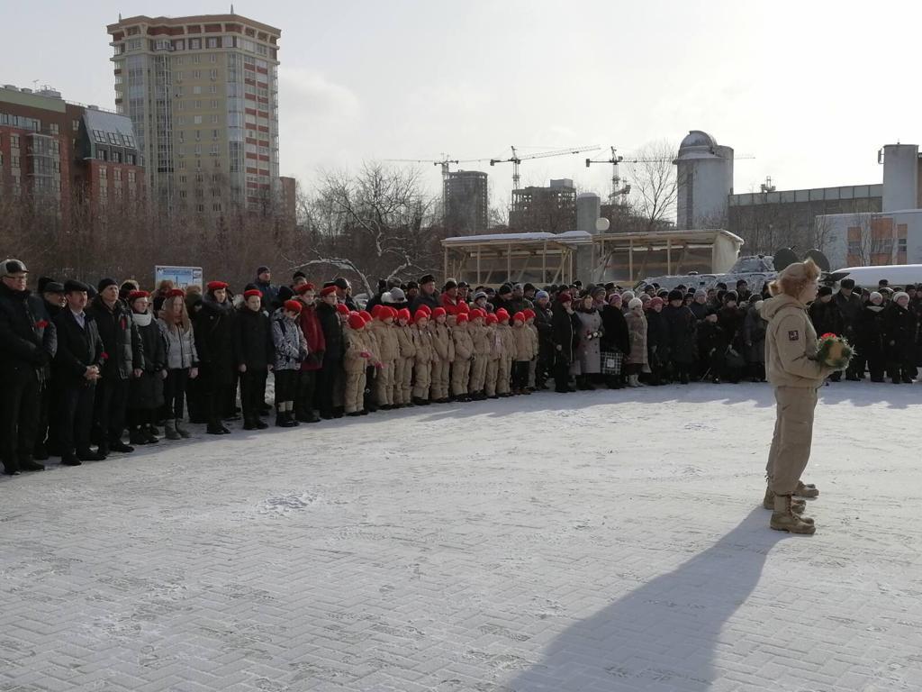 Члены «Союза десантников Удмуртии» отдали дань глубокого уважения всем тем, кто, находился в «горячих» точках