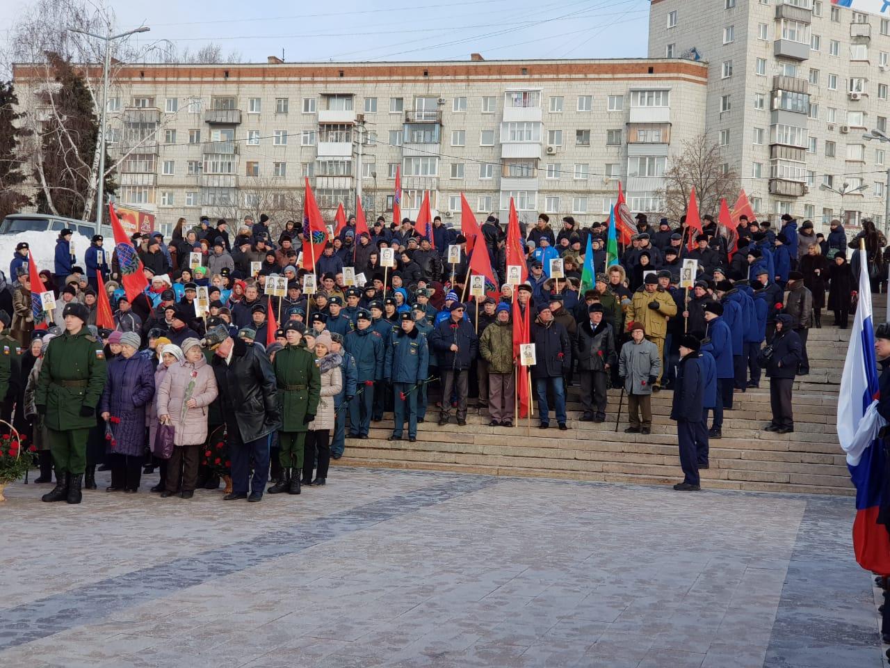 В г. Ульяновске и районах Ульяновской области прошли памятные мероприятия