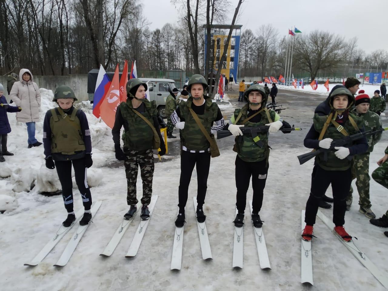 Региональная Орловская военно-спортивная эстафета «Внуки Маргелова»