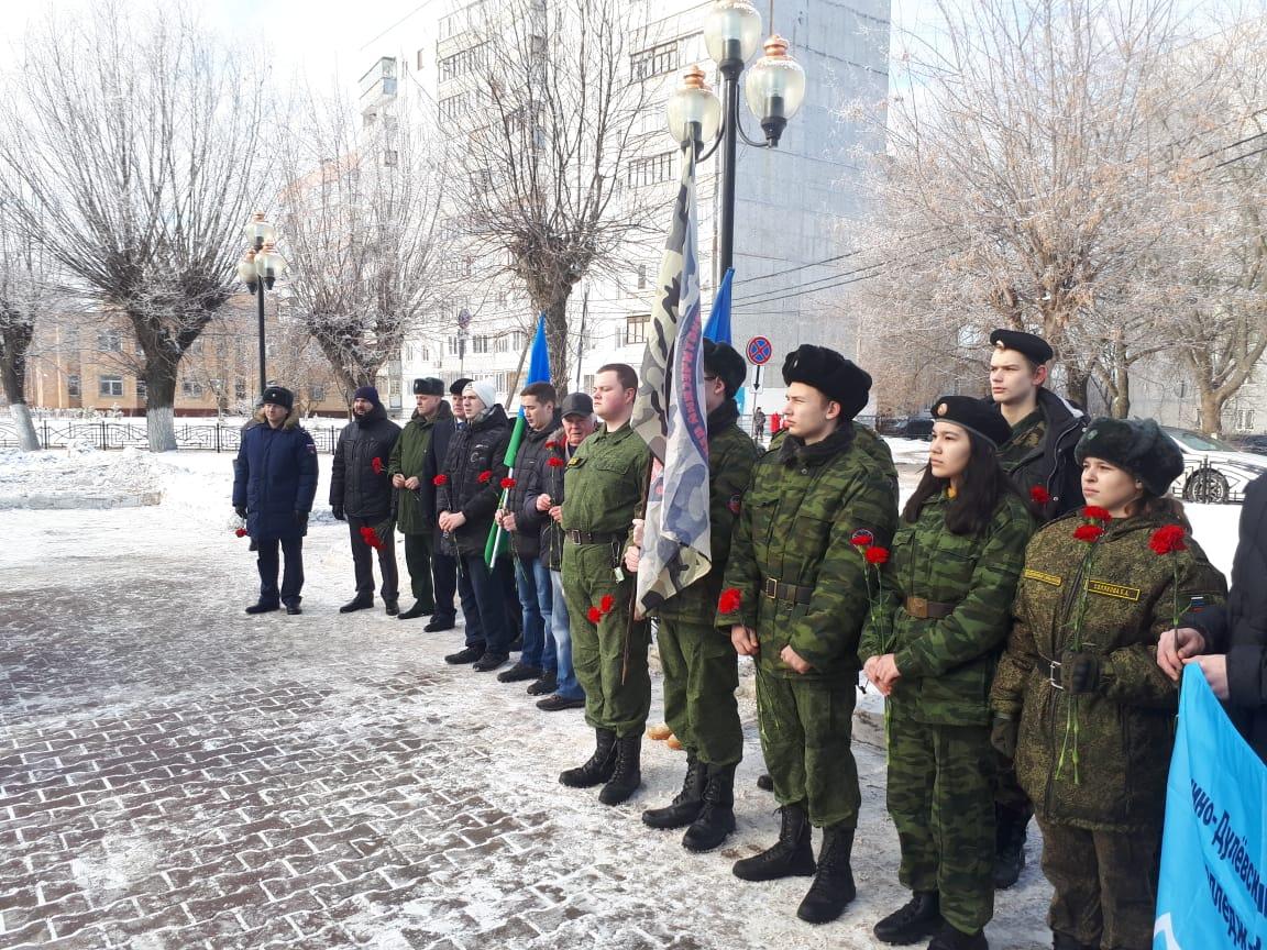 ОЗОО «ДЕСАНТНОЕ БРАТСТВО» на митинге в Орехово-Зуевском г.о., посвящённому памятной дате-выводу Советских войск из Афганистана