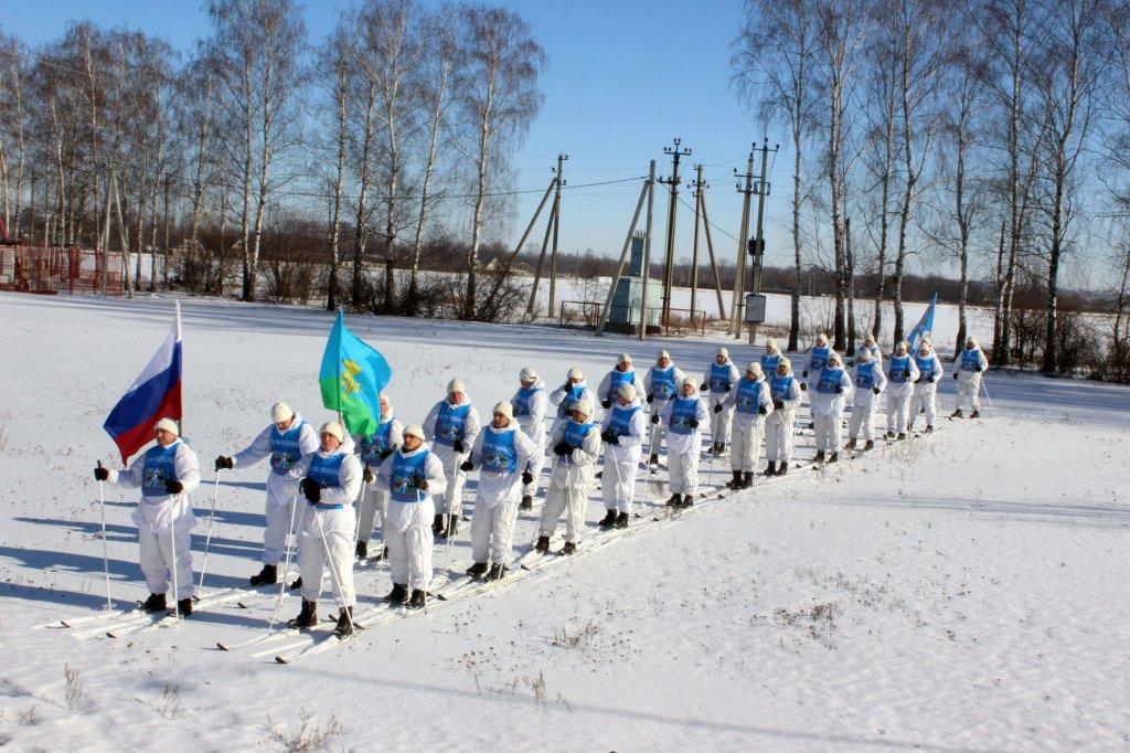 Участники марш-броска к юбилею Победы сделали остановку в городе Рассказово Тамбовской области