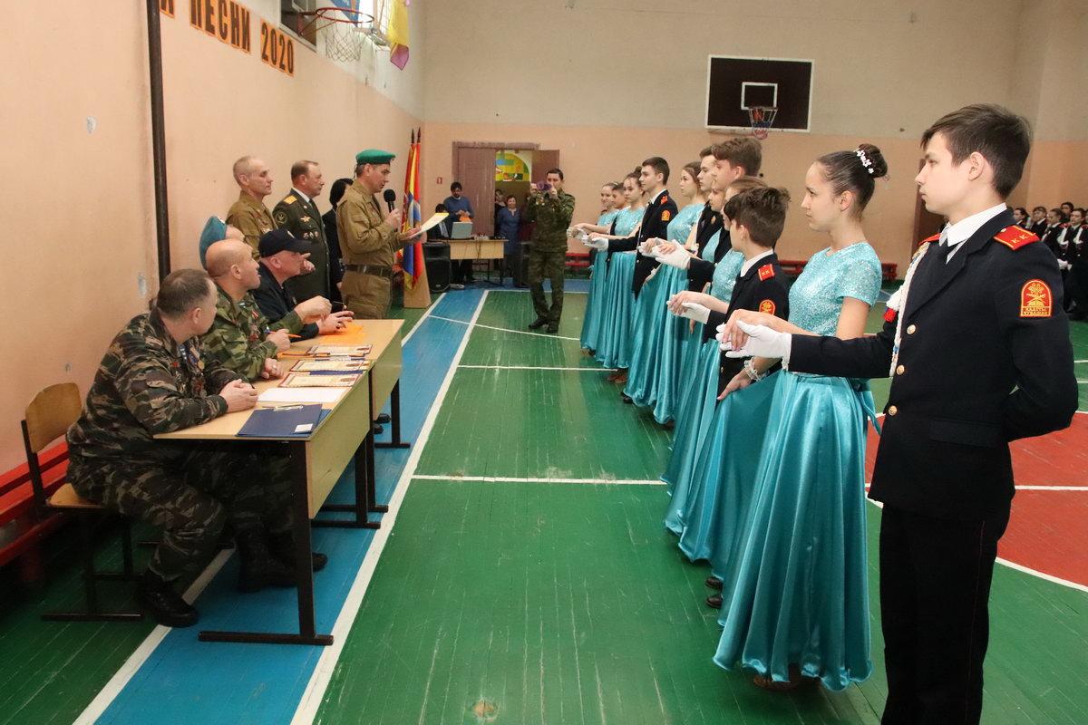Уроки мужества в школах. Пополнение в кадетском корпусе Чувашской Республики