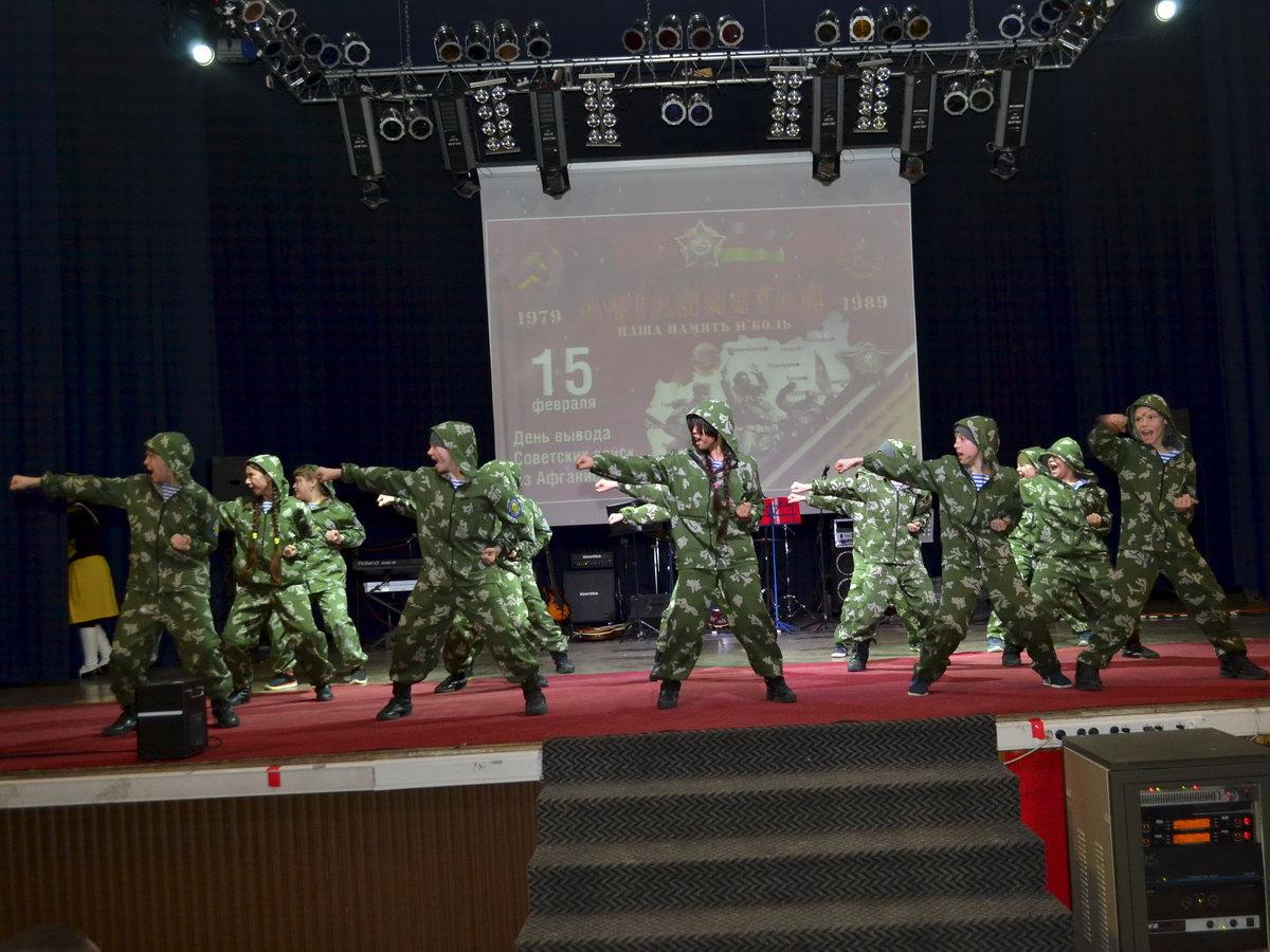 """19 февраля 2020 года проводится концерт посвященный празднованию """"Дня вывода войск из Афганистана"""" и """"День защитника Отечества"""""""