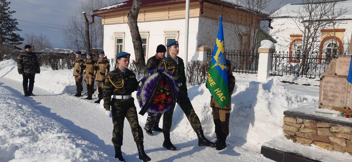 01 марта 2020 года митинг -панихида по погибшей роте в г. Киренске