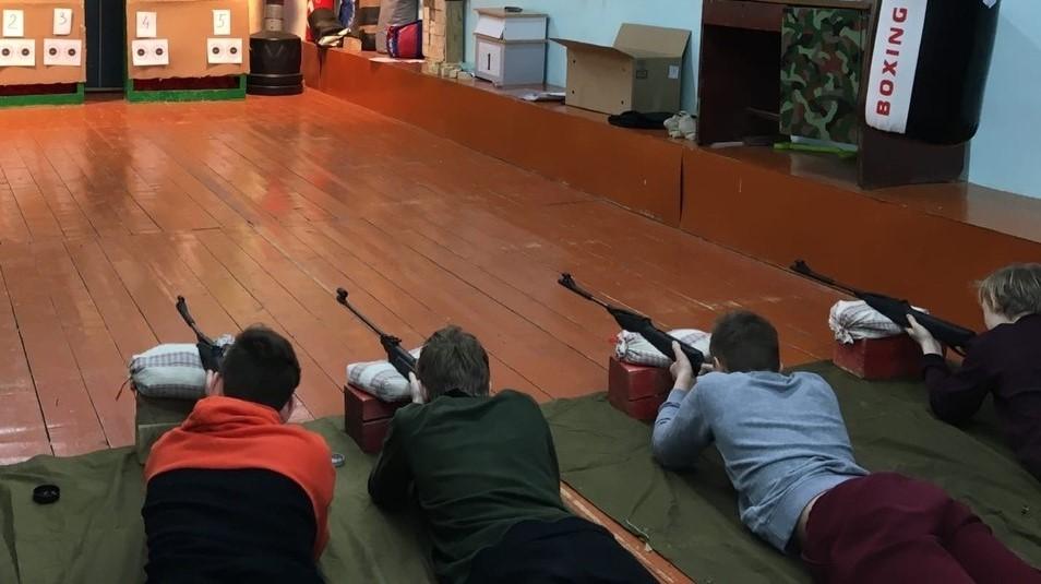 ВПК «Десантник» г. Воткинск «Союз десантников Удмуртии» на крайней тренировке по огневой подготовке