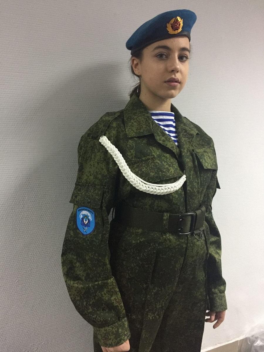 Кадеты «Союза десантников Удмуртии» примерят новую форму