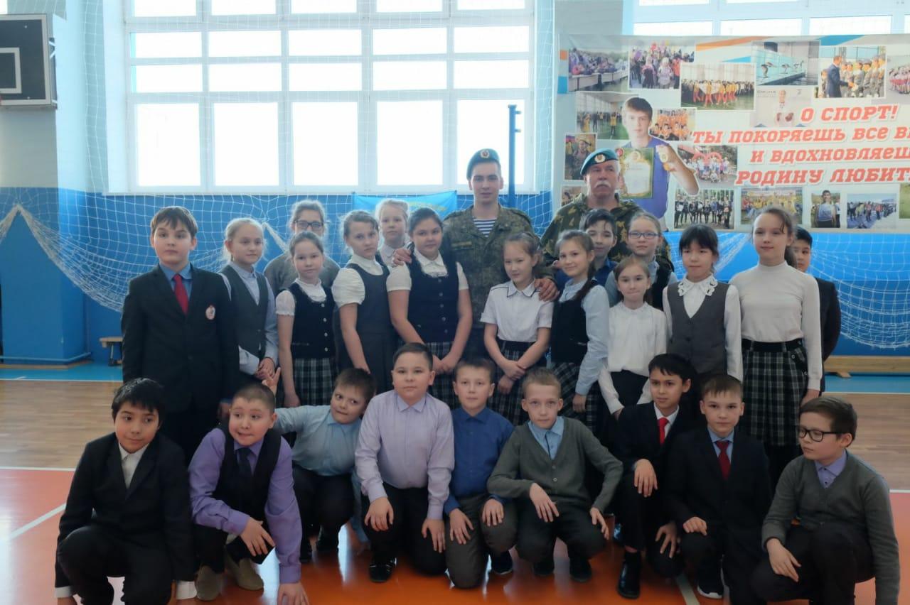 «Уроки мужества» в школах Цивильского района Чувашской Республики