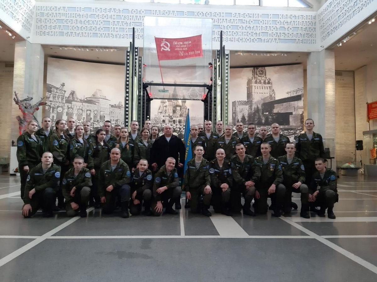 «Союз десантников Удмуртии» принял участие в мероприятие для представителей ветеранских и молодежных объединений ПФО «Эстафета поколений»