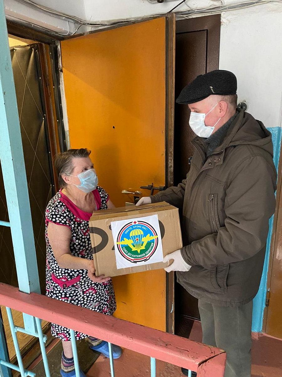 «Союз десантников Удмуртии» помогает ветеранам и … не только им