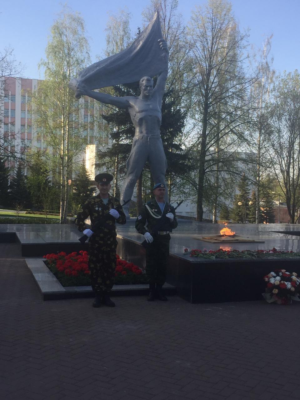 «Союз десантников Удмуртии» готов заступить 9 мая на пост №1 у Вечного огня в столице Удмуртии городе Ижевск