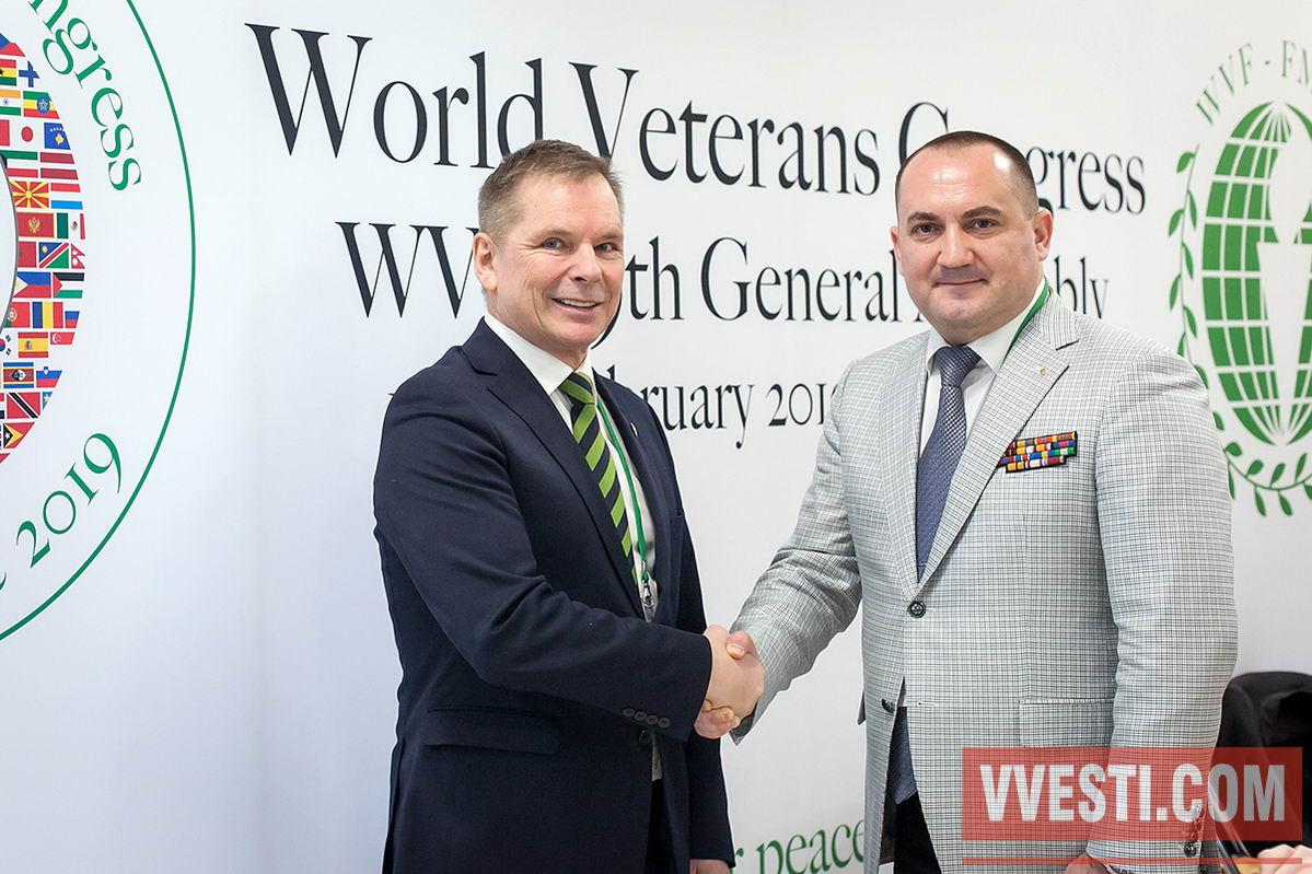 Всемирной Федерации Ветеранов - 70 лет!