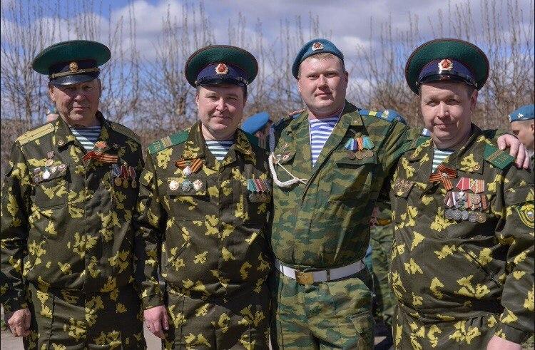 «Союз десантников Удмуртии» на празднике пограничников…