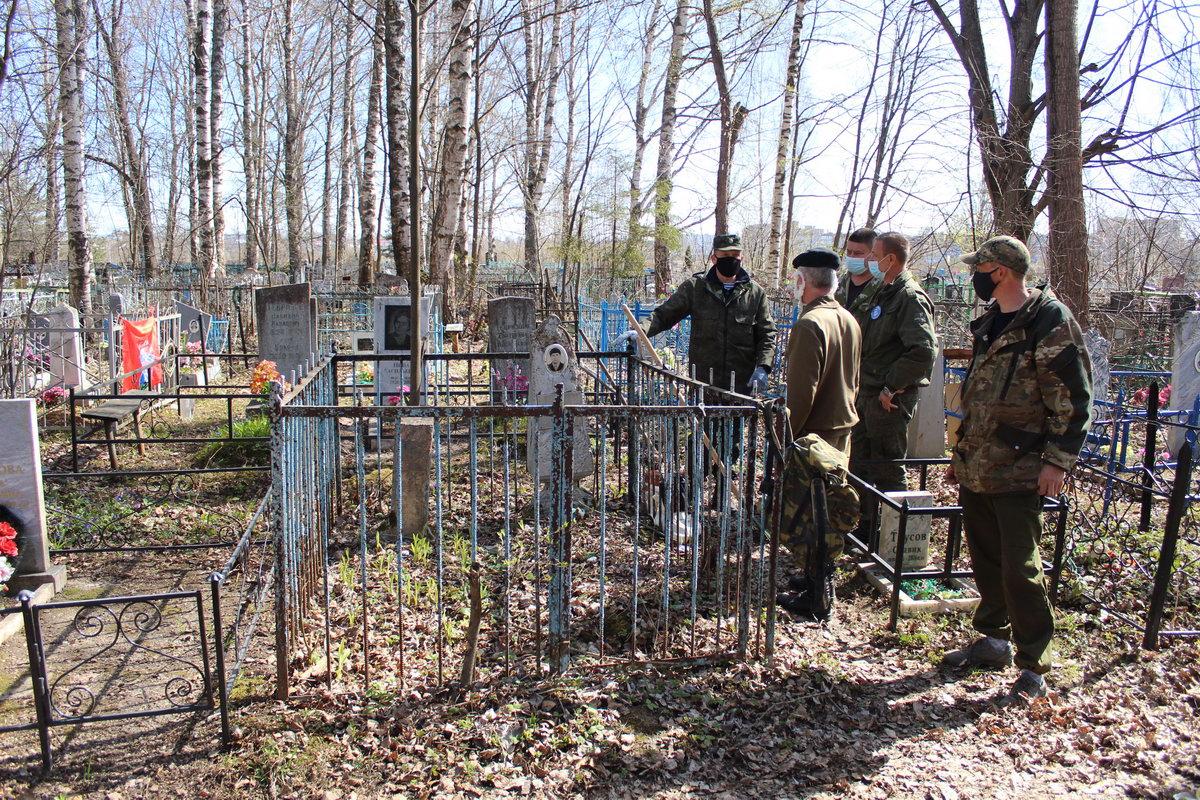 Уход за могилами участников ВОВ