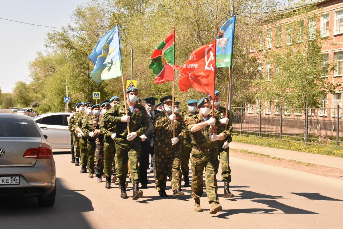 День Великой Победы в Оренбурге