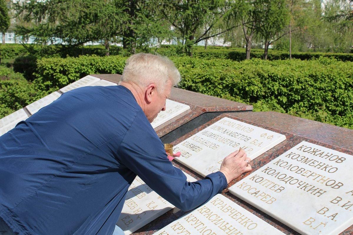 Субботник на Мемориале памяти ветеранов боевых действий