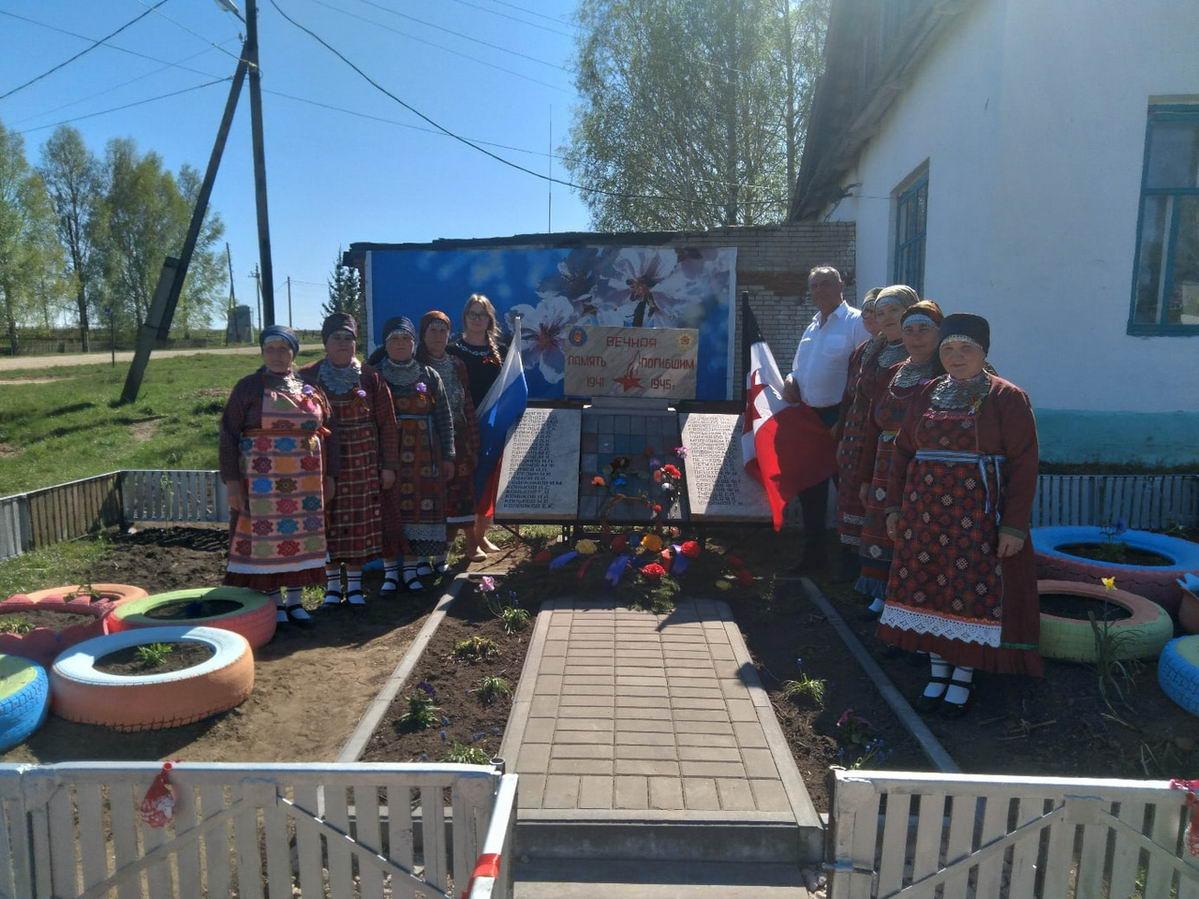 «Союз десантников Удмуртии» встречает праздник Победы в отдаленных районах республики…