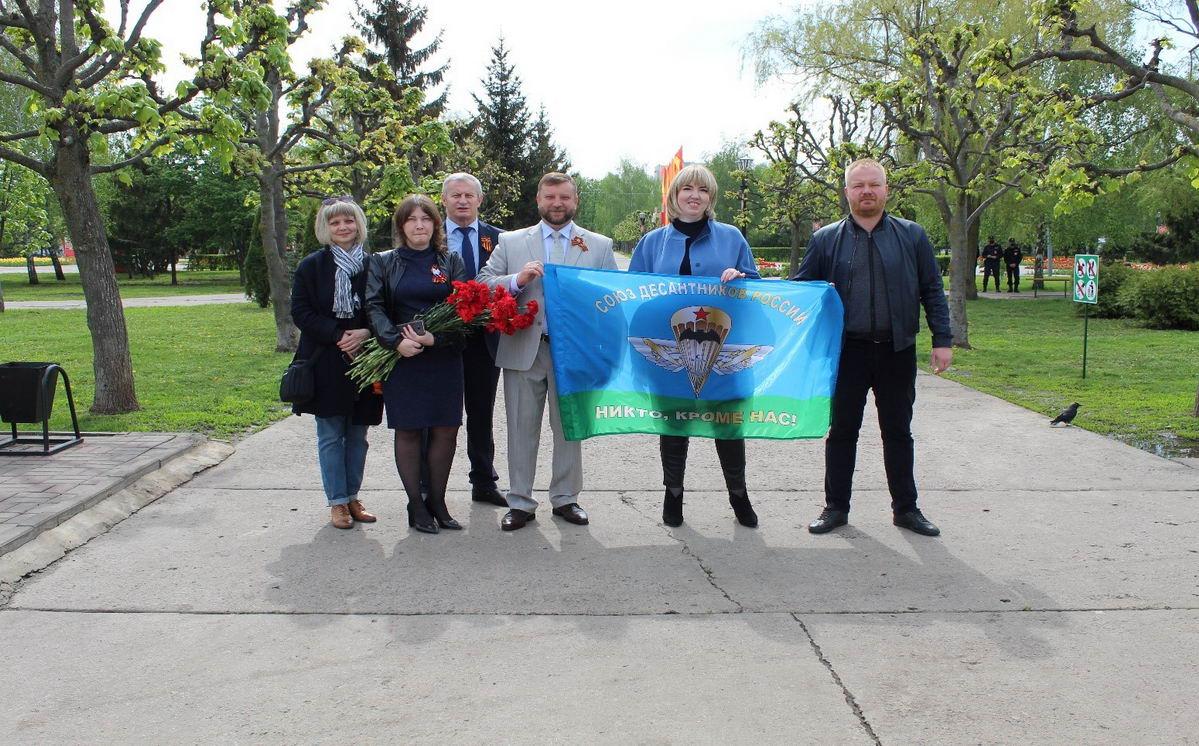 9 мая, в Парке Победы города Тамбова, Член Совета Федерации Федерального Собрания Российской Федерации Алексей Кондратьев принял участие в акции «Сад Памяти», приуроченной к 75-ой годовщине Великой Победы
