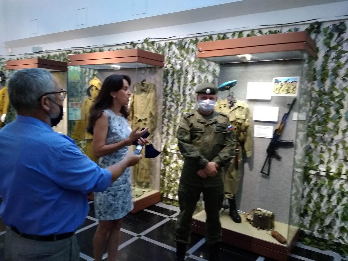 «Союз десантников Удмуртии» благодарят за организацию и проведения выставки «Готов к бою»