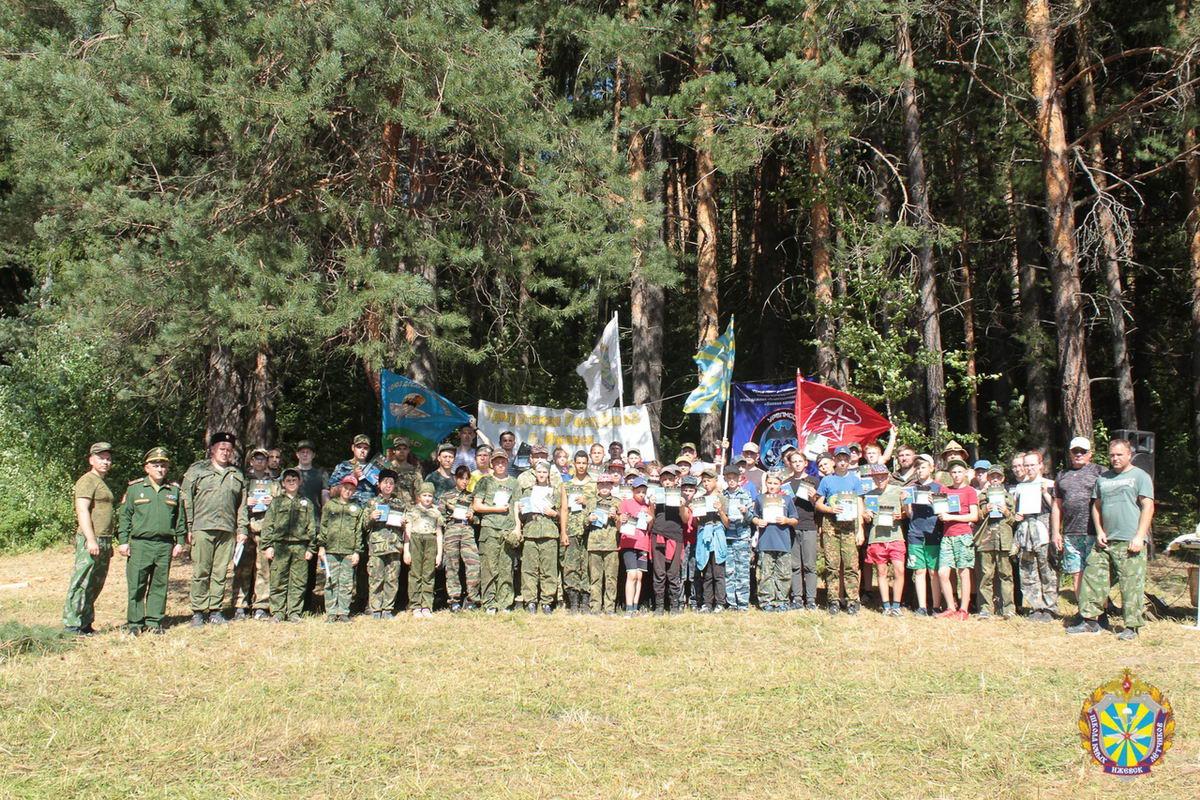 «Союзу десантников Удмуртии» выразили благодарность за помощь в организации учебно-тренировочных сборов
