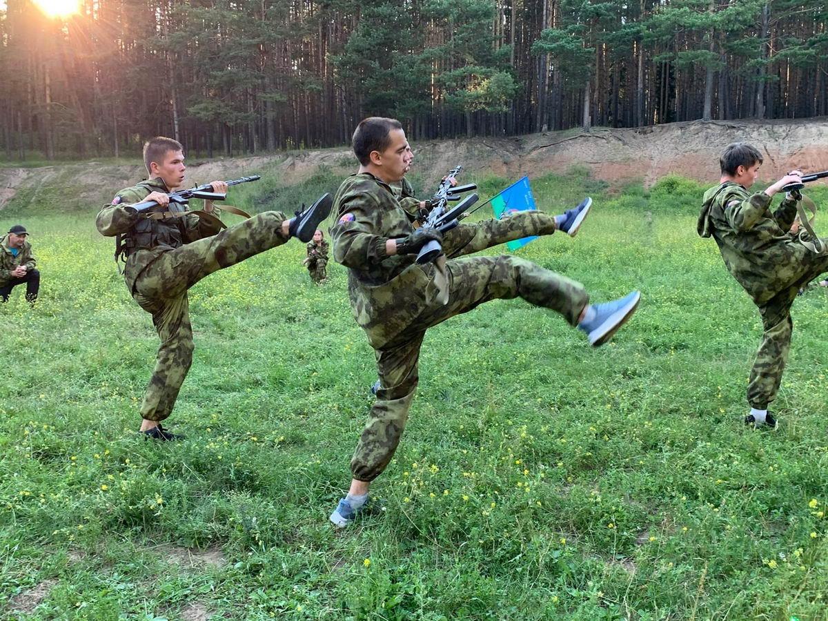 Молодёжная общественная организация «Военно-патриотический клуб «Легион» «Союза десантников Удмуртии» шлифует своё мастерство