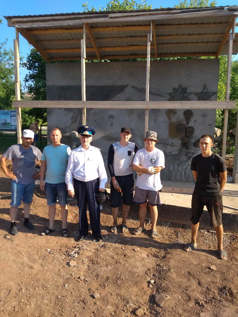 «Союза десантников Удмуртии» продолжает плановые работы по возведению монумента «Слава ВДВ»