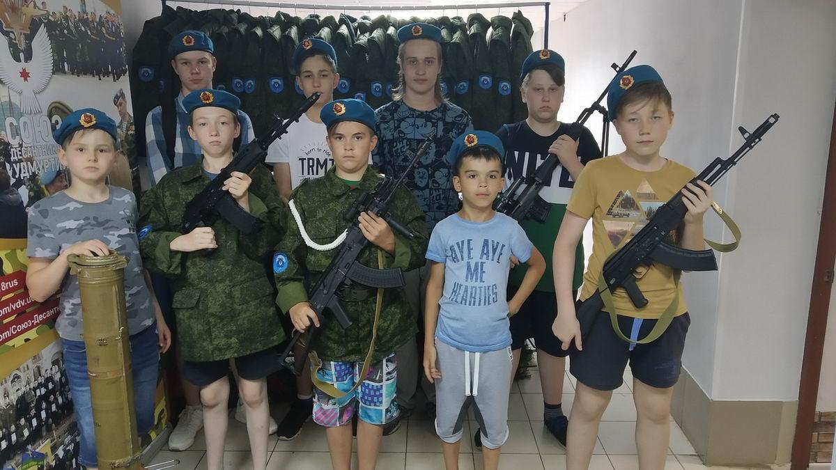«Союз десантников Удмуртии» принимает гостей…