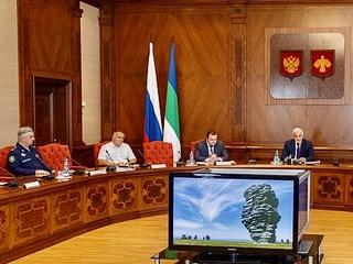 Встреча ВрИО Главы Республики Коми Владимир Уйба, с руководителями общественных организаций военно-патриотической направленности