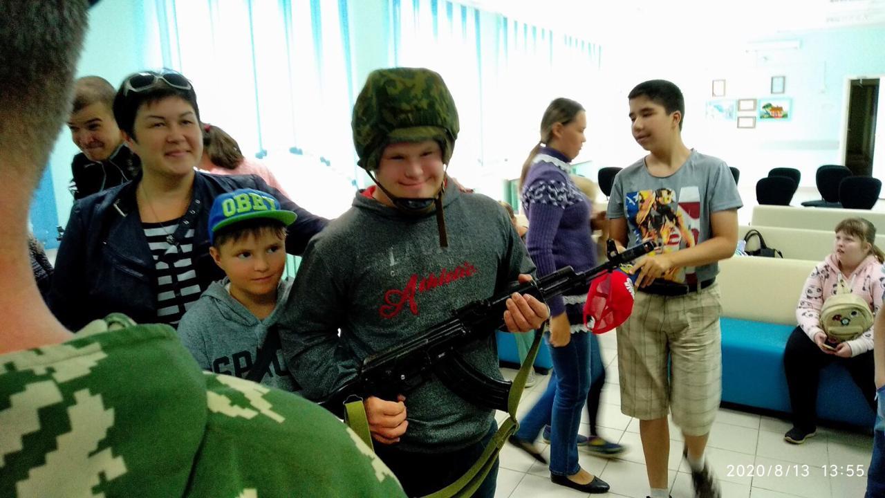 «Союз десантников Удмуртии» побывал в гостях у детей!