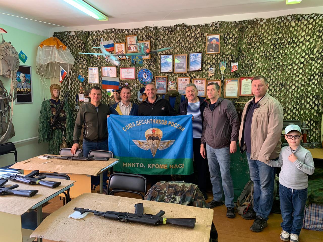 «Союз десантников Удмуртии» организовал и провел рабочую встречу руководителей можгинского, глазовского отделений и военно-патриотических клубов с целью обмена опытом