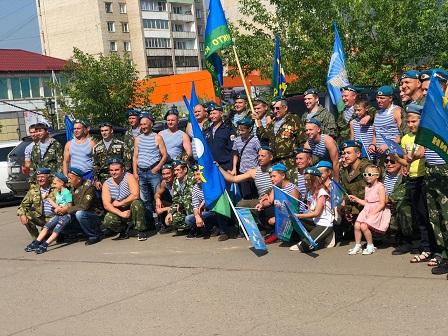 Празднование 90-летнего юбилея в городе Усть-Кут Иркутской области