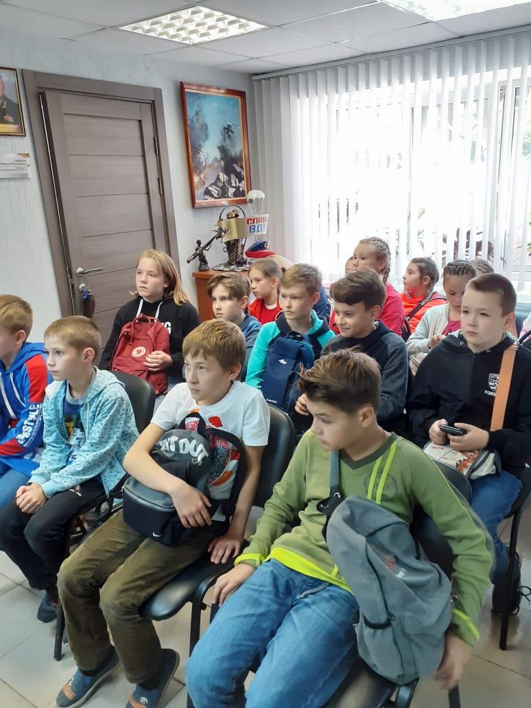 «Союз десантников Удмуртии» провел урок мужества в стенах «Музея ВДВ»