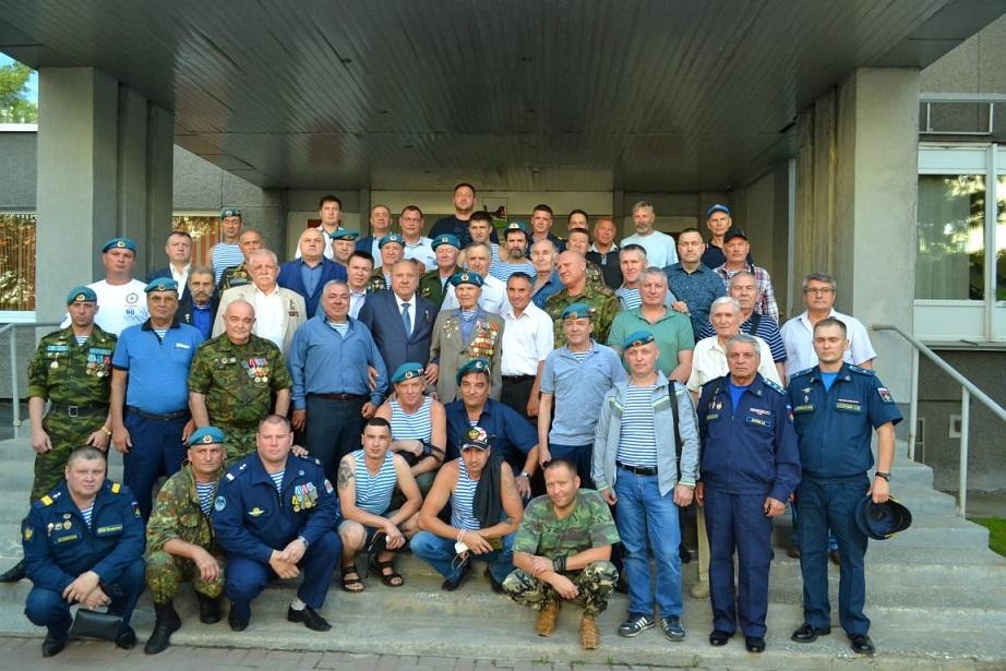 Герой России Шаманов В.А. посетил Иркутскую область