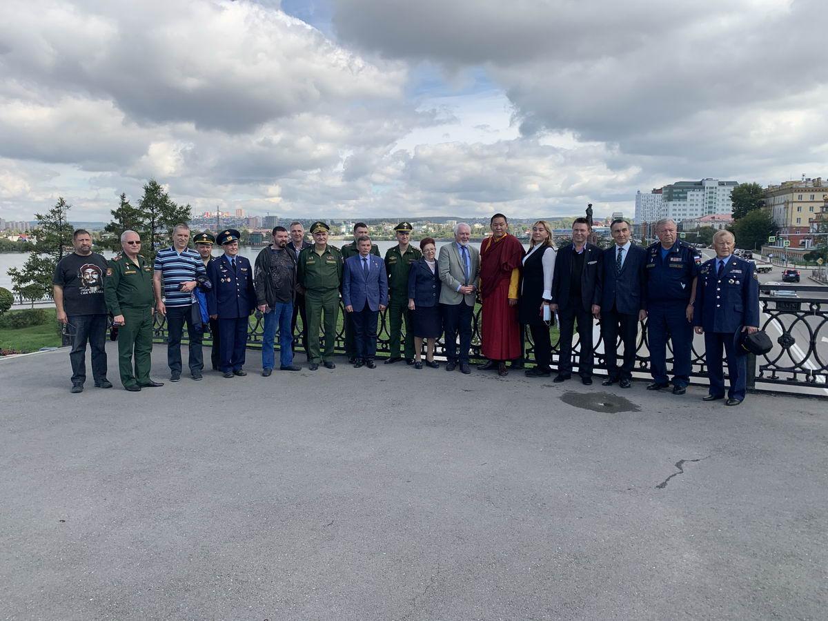 9 сентября 2020 года г. Иркутск посетил общественный Совет при Министерстве обороны