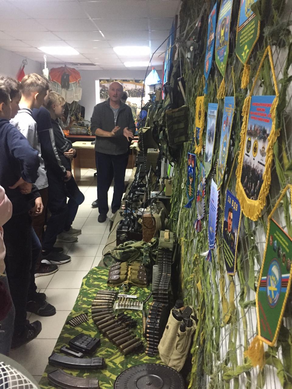 Экскурсоводы «Союза десантников Удмуртии» выходят на новый уровень подачи информации в музее ВДВ
