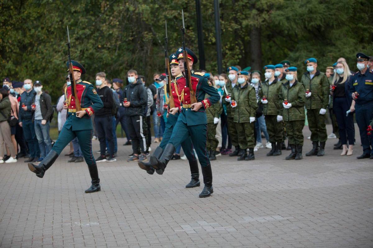«Союз десантников Удмуртии» принял участие в акциях «Свеча памяти» и «Капля жизни»