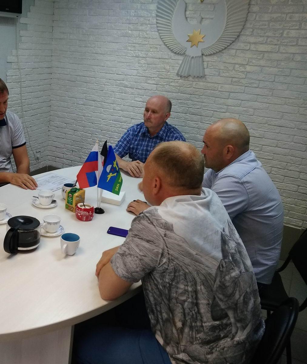Руководство «Союза десантников Удмуртии» встретилось со своими добрыми друзьями и надежными партнёрами