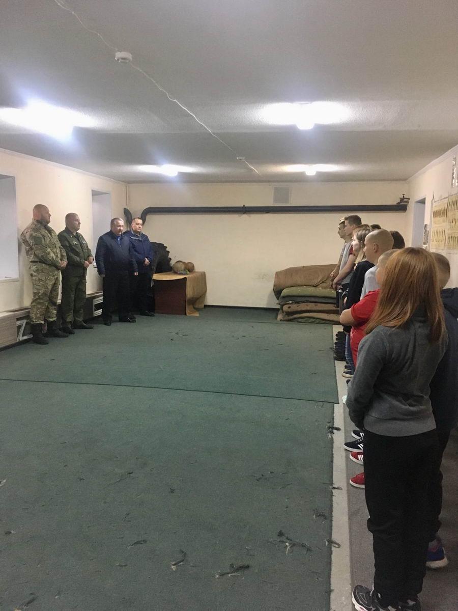 Открытие учебного года в военно-патриотическом клубе «Ратник»