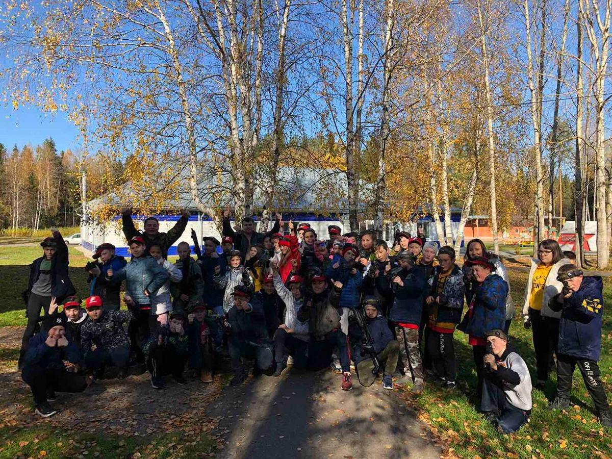 «Союз десантников Удмуртии» в оборонно-спортивном лагере «Елочка»