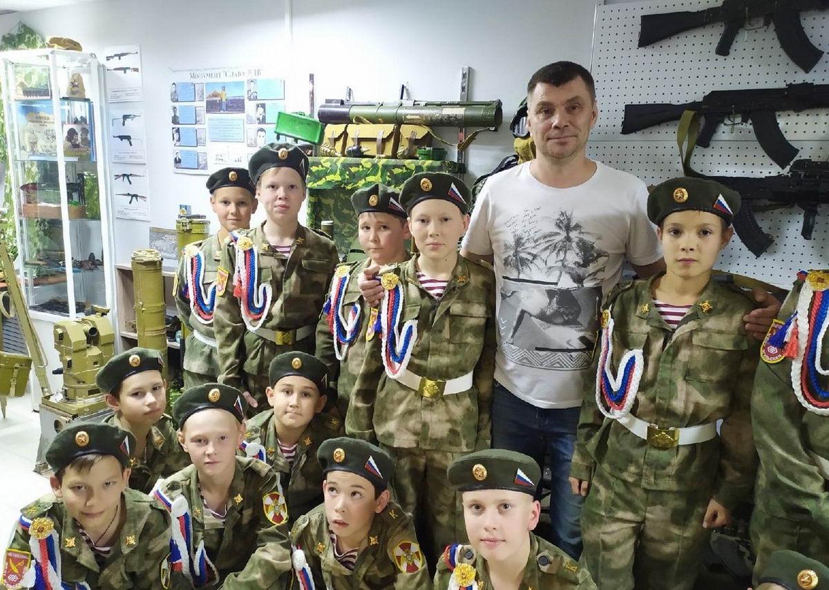 Музей ВДВ «Союза десантников Удмуртии» посещают со всех уголков республики
