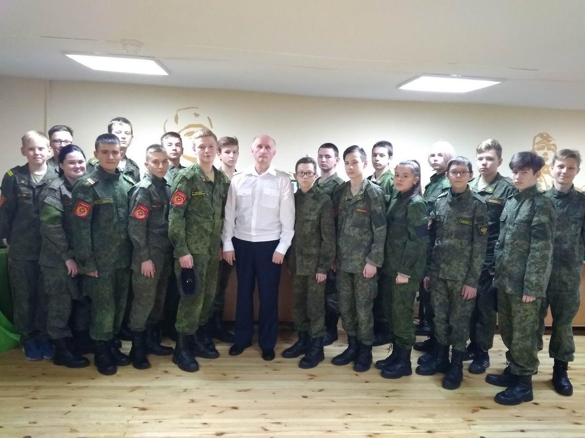 «Союз десантников Удмуртии» накануне Дня подразделений специального назначения провёл урок мужества