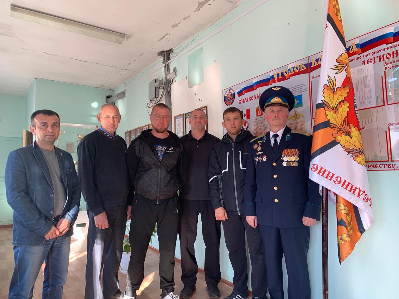 Начальник штаба «Союза десантников Удмуртии» субботний день провел в Можгинском отделении СДУ