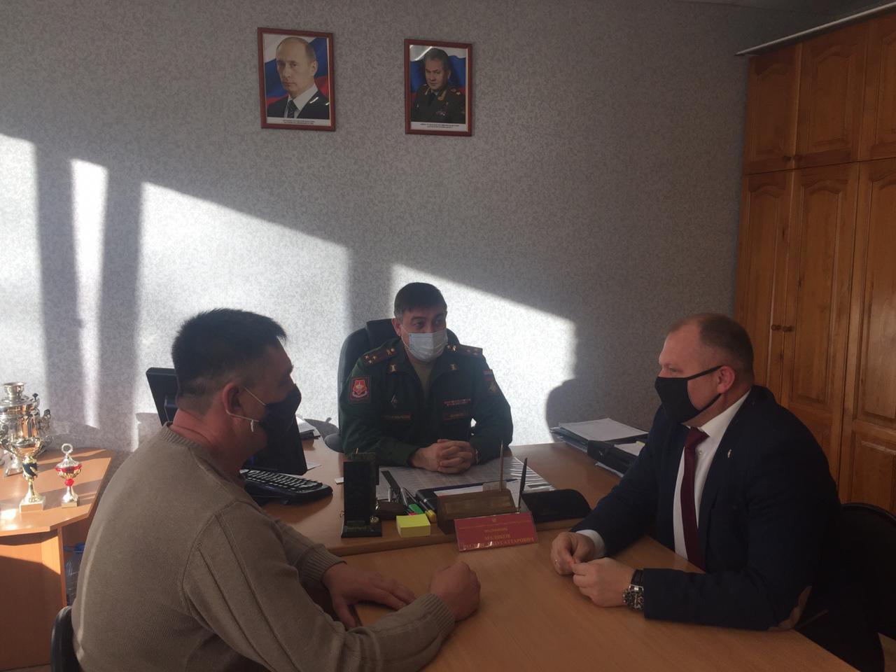 «Союз десантников Удмуртии» представил отчет руководству военного комиссариата Удмуртии о результатах проведённых в 2020 году мероприятий по «Программе ВСП-100 «Крылатая пехота»