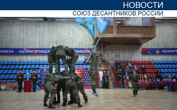 На турнире Вооружённых сил России по гиревому спорту