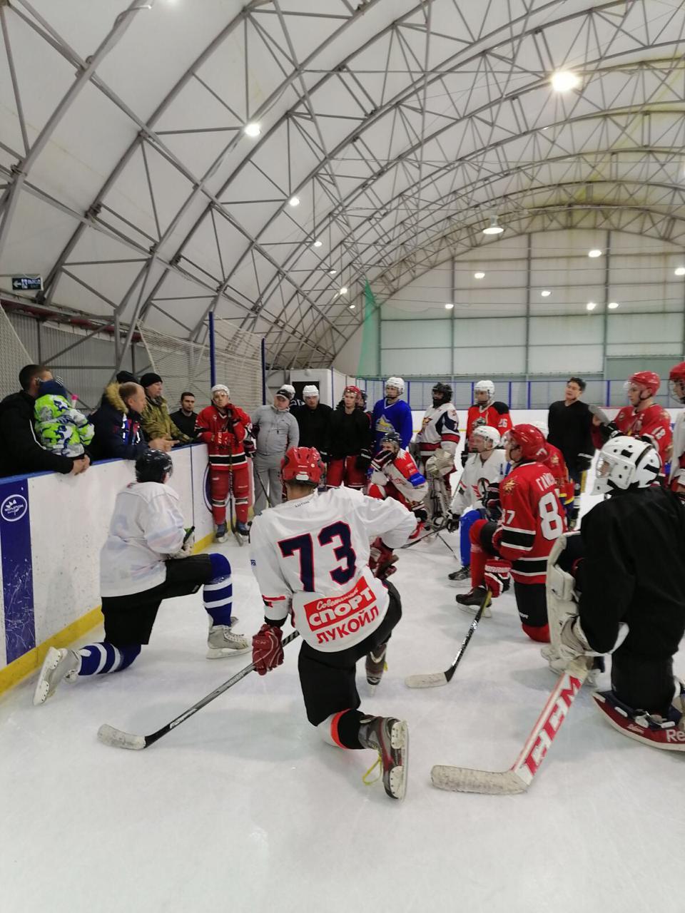 Команда «Союза десантников Удмуртии» по хоккею начала полноценную подготовку к предстоящему сезону