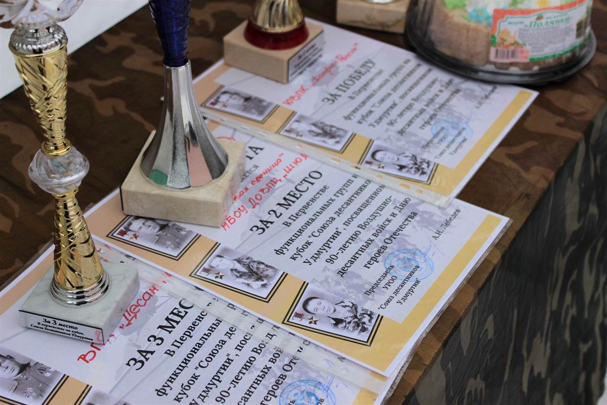 «Союз десантников Удмуртии» провел соревнование на кубок «Союза десантников Удмуртии»