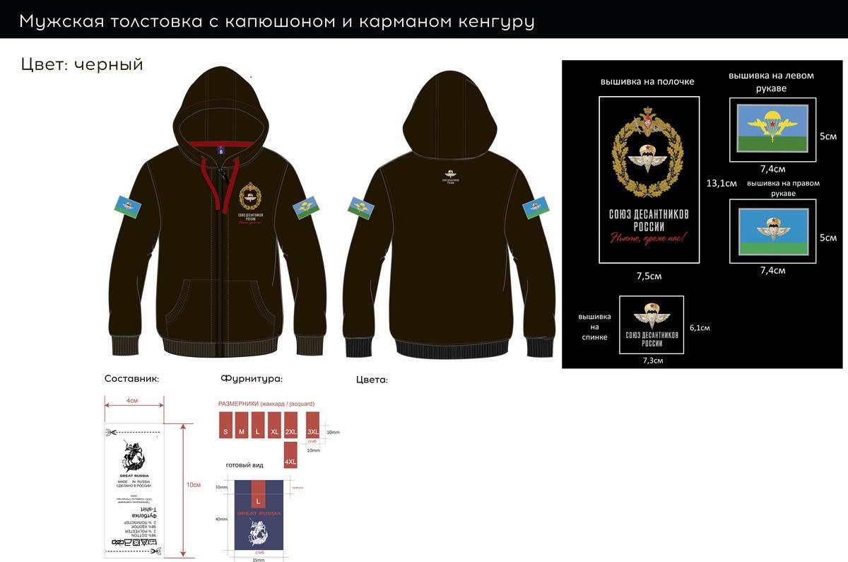 НОВАЯ ФОРМА ОДЕЖДЫ «СОЮЗА ДЕСАНТНИКОВ РОССИИ»