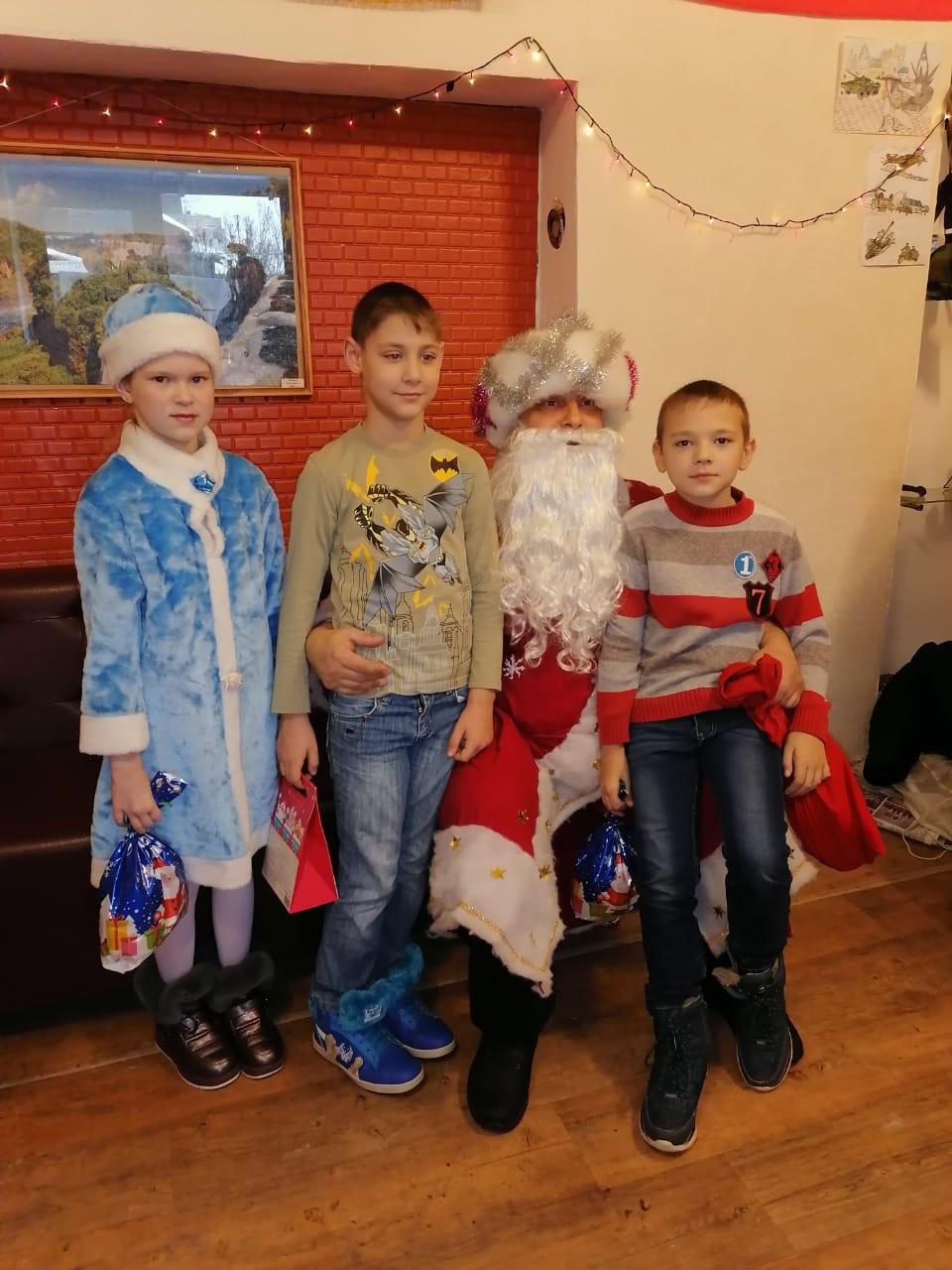 Новогодний утренник для детей с ограниченными возможностями