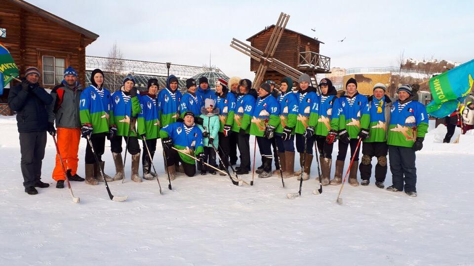 Команда «Союза десантников Удмуртии» отобралась на открытый Чемпионат Ижевска по хоккею на валенках