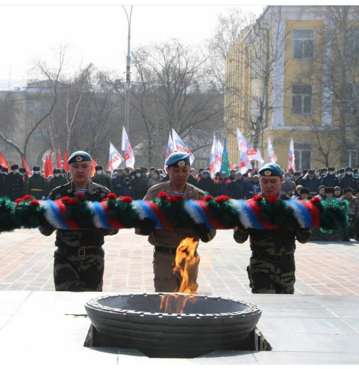 Тува присоединилась к всероссийской патриотической акции «Защитим память героев»